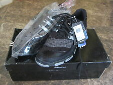 Adidas Mens Tour 360 4.0 S Black Golf Shoes Cleats 816232 SIZE 9 BRAND NEW