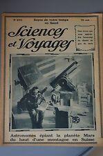Sciences et voyages 270 de 1924 Astronomes Francais , Bolivie , Damas