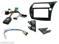 CTKHD01 Honda Civic 06-11  Double Din Car Stereo Fitting Kit stalk control RHD