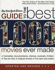 The New York Times Guide to the Best 1,000 Movies Ever Made, Updated &-ExLibrary
