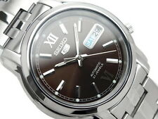 Seiko 5 Men's SNKK79K1  Stainless Steel Automatic 21 Jewels Day Date Watch