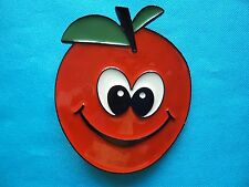 Funky Tomato Smiley Face Jeans Belt Buckle