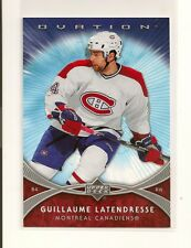 2007-08 Upper Deck Ovation Oversize 3 x 5 Card XL13 Guillaume Latendresse