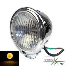 Chrome Headlight Head Light Headlamp For Harley Softail Sportster Dyna Bobber
