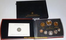 2005 PROOF DOUBLE DOLLAR SET - CANADIAN 8-COIN SET - CASE, BOX & CERTIFICATE