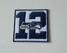 NFL Patch Aufnäher Seattle Seahawks 12ter Mann Fan-Patch ca. 5 x 5 cm