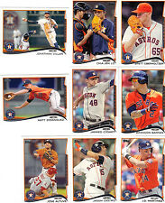 2014 Topps Series 1 Houston Astros Team Set Chia-Jen Lo Altuve Matt Dominguez 11