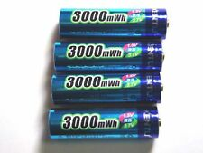 4 Battery Rechargeable 1.5V AA Lithium ion Li-ion 3000Mwh Kentli PH5 R6 R06 LR06