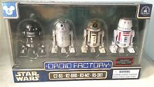 Disney Parks Star Wars Rouge One Droid Factory 4-Pack C2-B5 R2-BHD R3-M2 R5-SK1