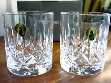 Waterford Crystal MOURNE DOF Double Old Fashioned Tumblers (2) NIB, Ireland
