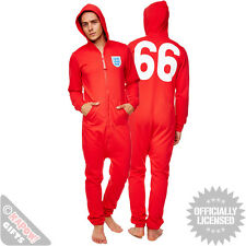 England Football Onesie - Vintage '66 Retro Jumpsuit. Gift for him men man dad