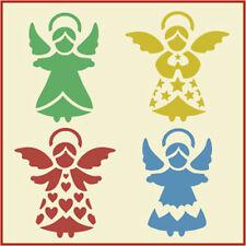 SMALL ANGEL SET STENCIL - CHRISTMAS - The Artful Stencil