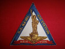 US Navy NEW YORK Naval Air Station - Statue Of LIBERTY Patch