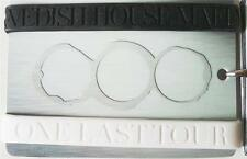 SWEDISH HOUSE MAFIA One Last Tour Silicon WRIST BANDS 2 piece pack Black & White