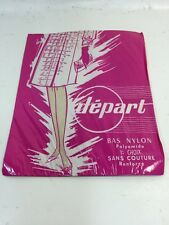 Bas Sans Couture Départ  Taille 1  /nos/vintage/sexy/pin-up/hold-up