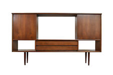Mid Century Modern Wall Unit/Media Console Table