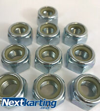 Kart - Hub / Front Stub Axle / Wheel  Nut M14 Fine Thread - Pack of 10 -