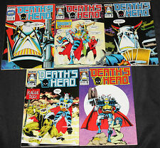 Marvel Copper DEATH'S HEAD 5pc Count High Grade Comic Lot VF to NM Transformers