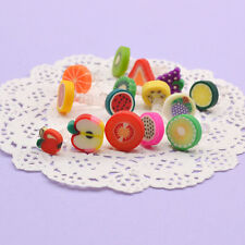 10 Pcs Random 3.5mm Fruits Plug Earphone Ear Cap Jack Anti Dust For Cell Phone