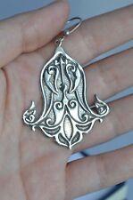 Vintage colgantes pendientes de plata 800 Sello Egipcio Egipto