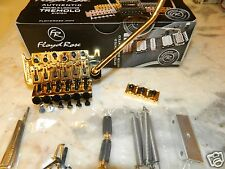 GENUINE FLOYD ROSE SPECIAL TREMOLO GOLD W/ SR3 43MM LOCKING NUT FRTS3000