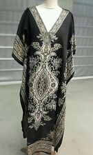 Women New Long printed Ladies African style Dress Kaftan.Fit size12 to 24.BROWN