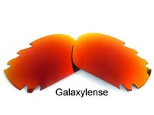 Galaxy Replacement Lenses For Oakley Jawbone Fire Red Polarized 100%UVA&VB