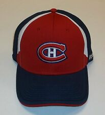 Montreal Canadiens NHL Hockey Reebok Cap Flexfit One Size NEU Eishockey  DEL