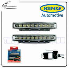 Ring Car Cruise-lite LED Ice White Daytime Running Lights Styling Lamps BRL0379