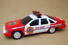 VINTAGE Toy Chevrolet Caprice 1991-1992 Fire Chief New Bright Industrial Co VERY