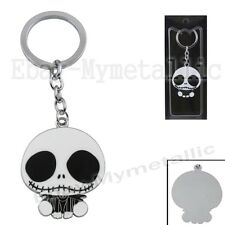 Disney Nightmare Before Christmas Jack BIG Head Figure Pendant Key Ring Chain WB
