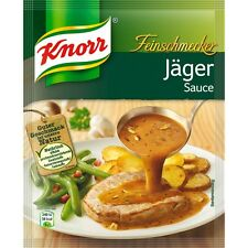 seven (7) Bags Knorr Gourmet Hunter/ Jäger Sauce New from Germany