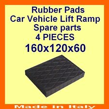 Universal Scissor Lift Pads - H60 - Ramp Rubber Blocks - Made in Italy -HQuality