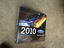 2010 FORD MUSTANG SHELBY GT500 FUSION TAURUS FOCUS DEALER ALBUM BINDER ALONE