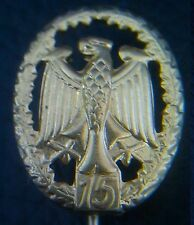 ✚0744✚ German Bundeswehr Military Proficiency Badge MINIATURE GOLD REPEAT V. 15