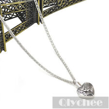 1 Pc Silver Dove Urn Necklace Ash Holder Cremation Pendant Metal Memory Jewelry