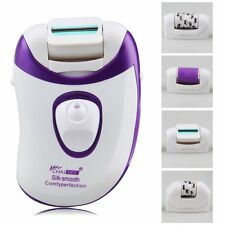 4 in 1 Callus Remover Electric Rechargeable Epilator Women Hair Removal EU Plug