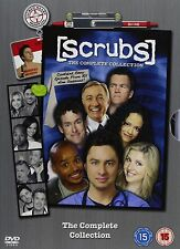 Scrubs - The complete boxset -Stagioni 1 - 9 (31 DVD) - IMPORT AUDIO ITALIANO -