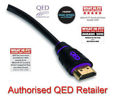 QED Profile HDMI Lead - High Speed with Ethernet & 3D 1080p - 1m QE5001