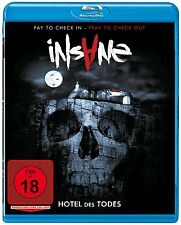 INSANE  - Blu-Ray Disc - From The Director Of Evil Ed - Uncut -