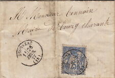Lettre France Sage Segonzac Charente Cover Brief