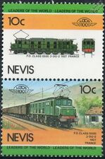1927 PO / SNCF 2D2 Class 5500 Electra (France) Train Stamps / LOCO 100