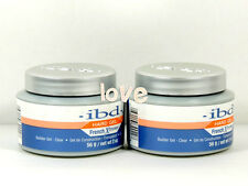 IBD New French Xtreme CLEAR 56g/2oz - French Xtreme Builder UV Gel Set of 2 jar