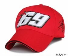 Moto Gp Baseball Cap 69 Race Nicky Hayden Same Paragraph Snapback Hats #RED
