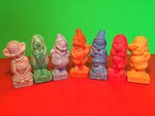 Vintage 1994 Seven 7 Dwarfs Colored Soaps Set Avon
