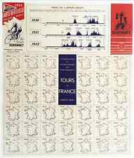 1952 Tour De France - Original Vintage Bicycle Poster - Cycling - Coppi