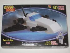 Best-Lock Building Blocks - Build 50 piece SPACESHIP Toy Model Kit, Arts & Craft