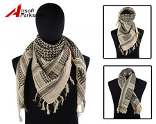 Airsoft Tactical Outdoor Military Arab Shemagh Kafiya Scarf Mask - Desert Sand