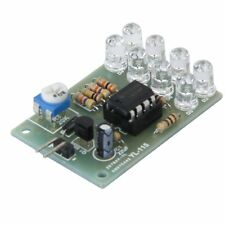 12V Breathe Light LED Flashing Lamp Parts Electronic DIY Module LM358 Chip 8 LED