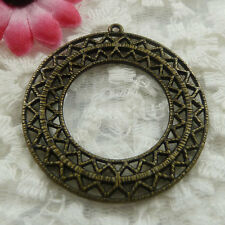 Free Ship 10 pieces bronze plated cute pendant 48x45mm #620